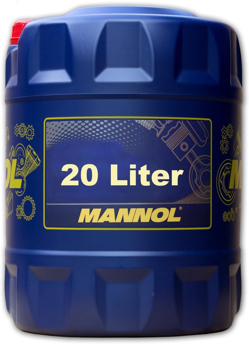 20 Liter Mannol Hydro Hv Iso 46 Hvlp 46 Hydrauliköl Din 51524 3 Auto