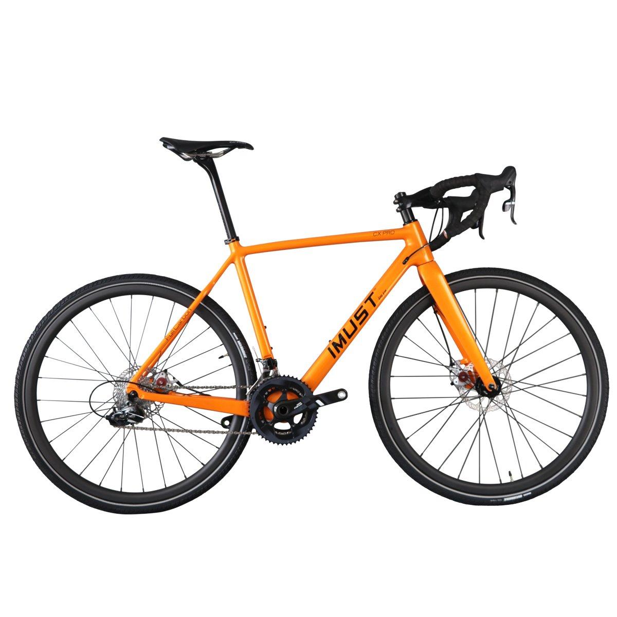 IMUST(アイマシト) AC109 カーボン クロスバイク ディスクブレーキ BB:BB86 DI2  フレムサイズ:4850.52545658㎝選択可 B01GJG1T0S 50cm