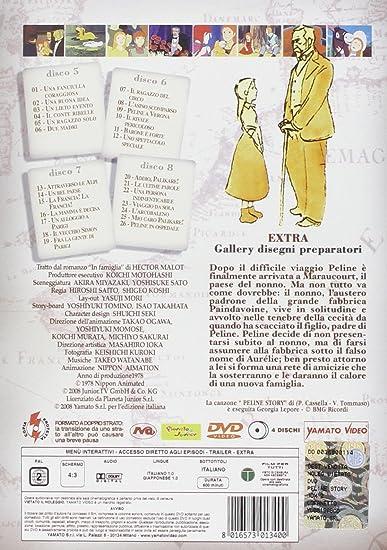 Peline Story - Serie Completa (8 Dvd) [Italia]: Amazon.es: Hiroshi ...