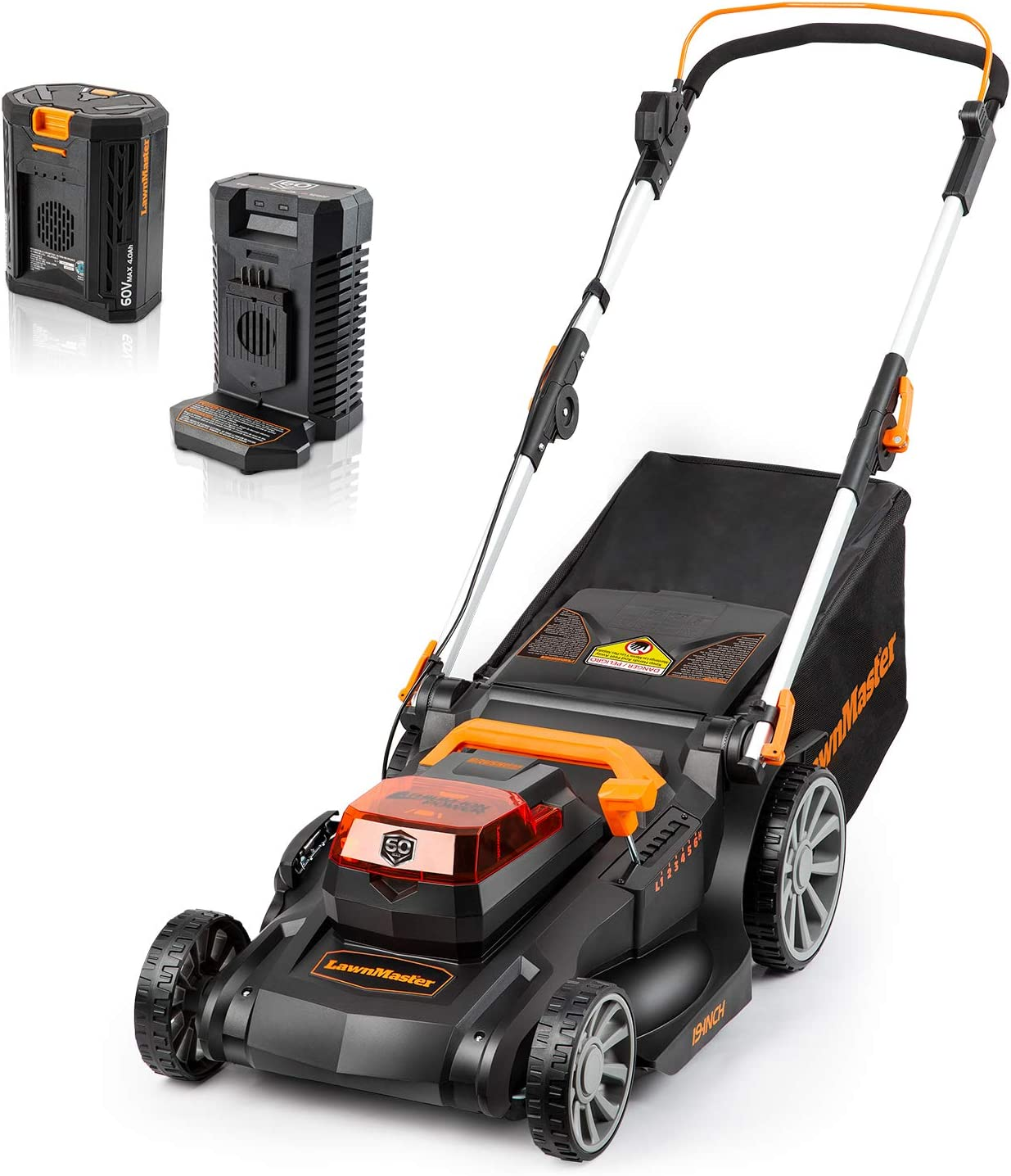 LawnMaster Brushless Push Lawn Mower