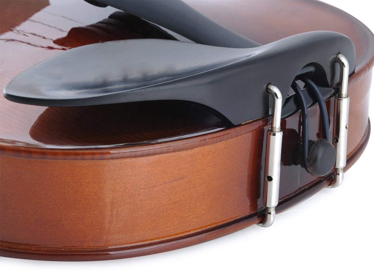 ADM Acoustic Violin 1/2 Size with Hard Case, Beginner Pack for Student, Red Brown by ADM (Image #7)