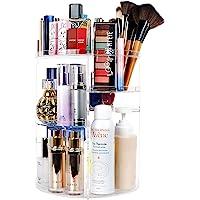 Organizador de Maquillaje, Vagalbox Organizador Giratorio de Tocador y Caja de Almacenamiento, Organizador Giratorio de…