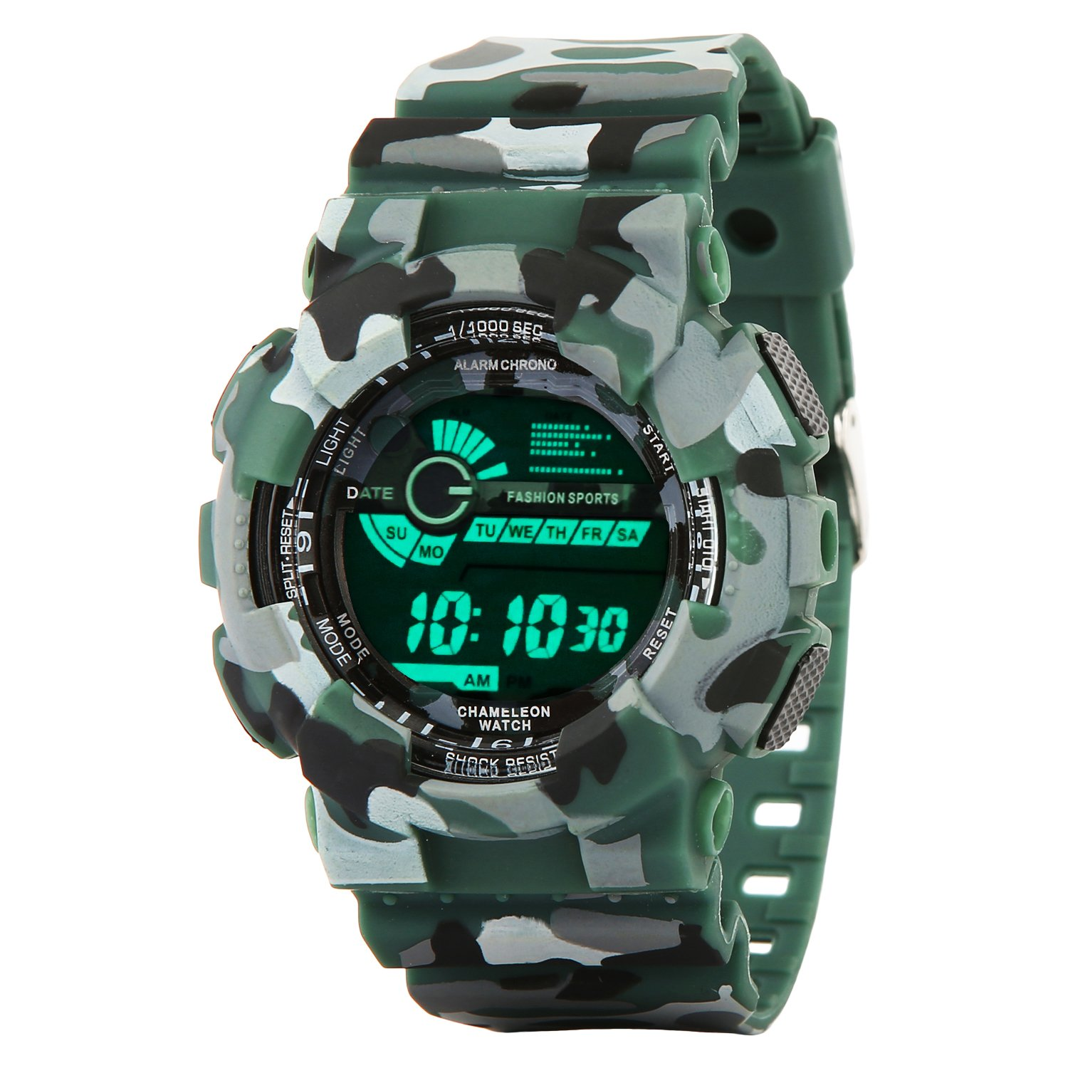 Addic Digital Multicolor Dial Men's Watch