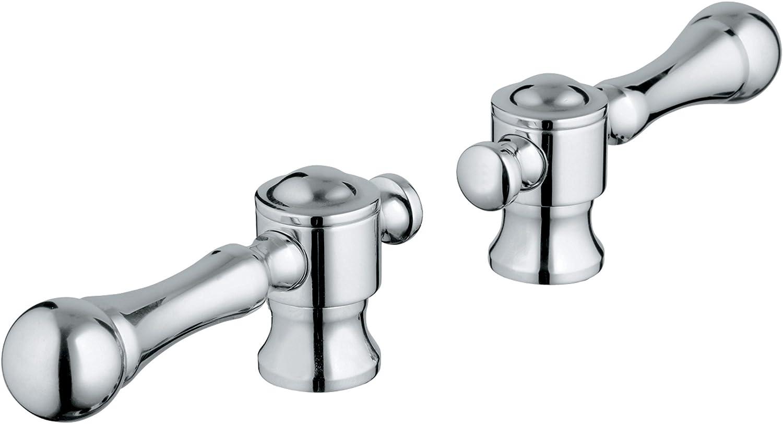 Grohe Bridgeford Lever Handles Faucet Spouts And Kits Amazon Com