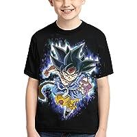 Camiseta Dragon Ball para Adolescentes y Niños,HombreTop de Anime Japonés Manga Corta Patrón 3D Verano Casual Manga…