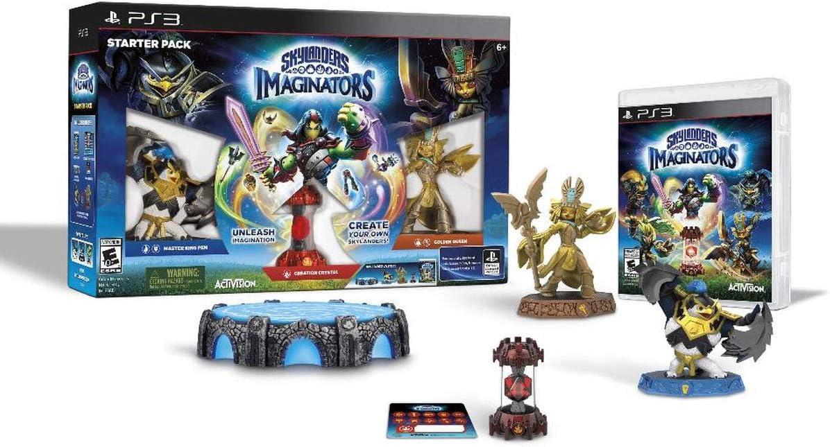 PS3 Skylanders: Imaginators Starter Pack US Version: Amazon.es: Videojuegos
