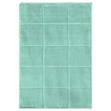 Bon Spa Retreat Memory Foam Bathroom Mat/rug : Square Box Design, Non Slip