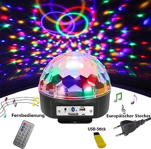 Lampe boule disco /à facettes