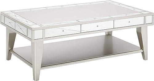Coaster 720888-CO Coffee Table, Mercury