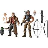Hasbro Marvel X-Men Series - Figuras coleccionables de Hawkeye y Logan de 15 cm - Edad: 4 años en adelante
