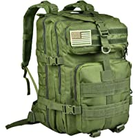 CVLIFE Military Tactical Molle Backpacks 3 Day Assault Pack Bug Out Bag Army Rucksacks