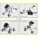 Contixo Puppy Smart V2 Robot Electronic Dog Walking Pet Toy Interactive Dance, Voice Commands, Remote Controlled, Bluetooth, Obey Commands, Singing, Motion Sensor, App Controlled, Wireless Robot Dog