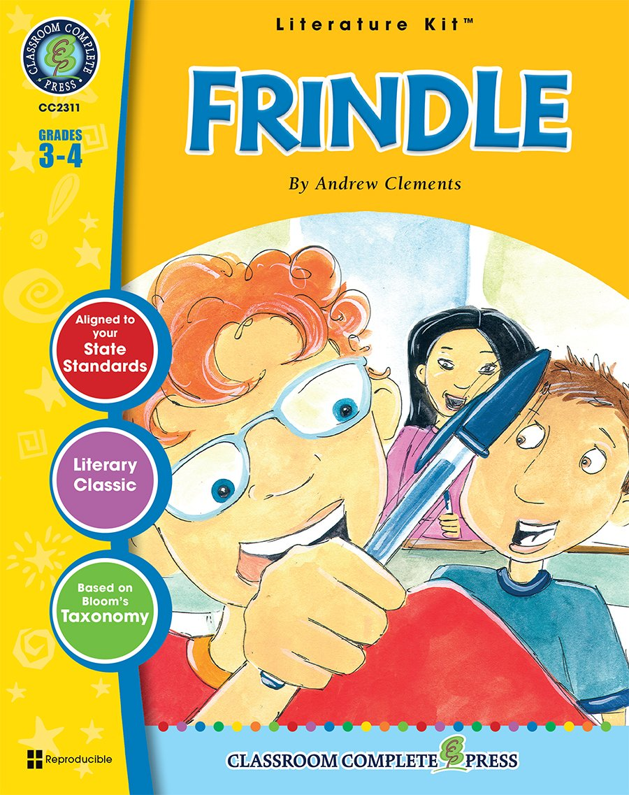 Amazon.com: Frindle - Novel Study Guide Gr. 3-4 - Classroom Complete Press  (Literature Kit) (9781553194897): Staci Marck: Books