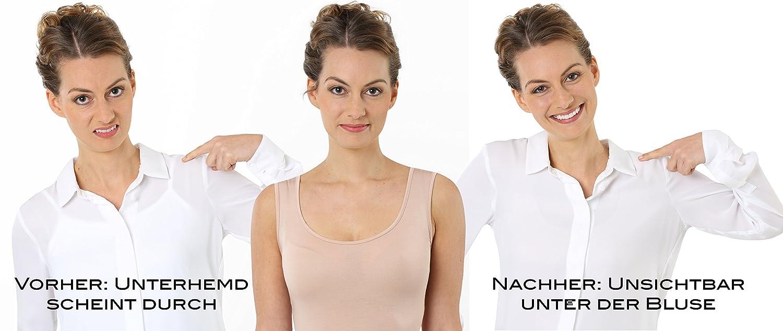 ee86e4c6b0c9a8 Albert Kreuz Damen Unterhemd Baumwolle Kurzarm Hautfarbe: Amazon.de:  Bekleidung