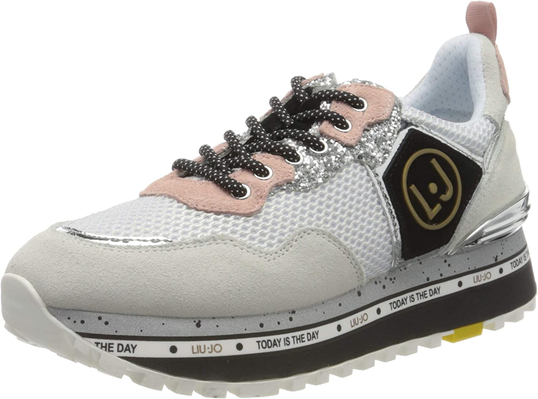 Liu Jo Maxi Alexa-Running White, Zapatillas para Mujer: Amazon.es: Zapatos y complementos