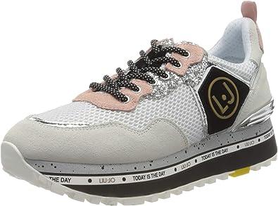 estante alma apodo  Liu Jo Maxi Alexa-Running White, Zapatillas Mujer: Amazon.es: Zapatos y  complementos