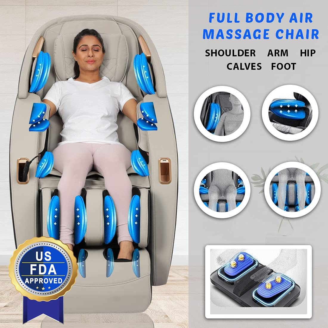 SB MZ08 Zero Gravity Massage Chair