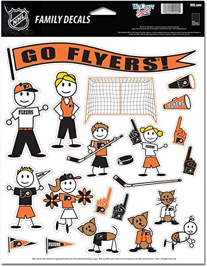 Wincraft NHL Family Decal Sheet