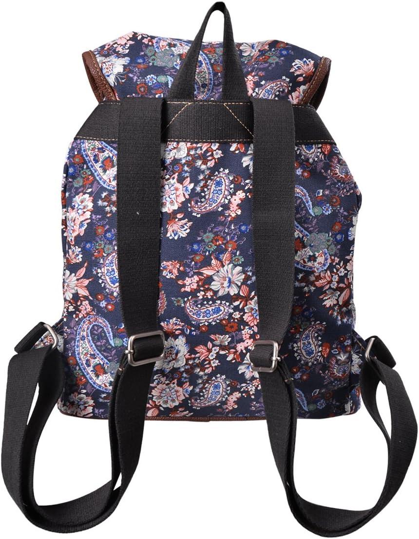 Douguyan Damen Uni Rucksack Daypack E00117 Beige