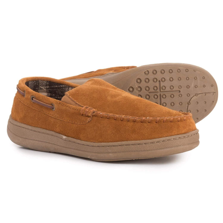 56aa6518ab1 Amazon.com | Rockport Venetian Premium Indoor/Outdoor Slippers ...