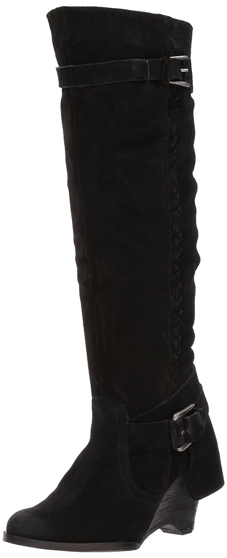 Naughty Monkey Women's Double up Slouch Boot B071RVZ8HQ 8.5 B(M) US|Black