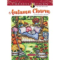 Creative Haven Autumn Charm Coloring Book
