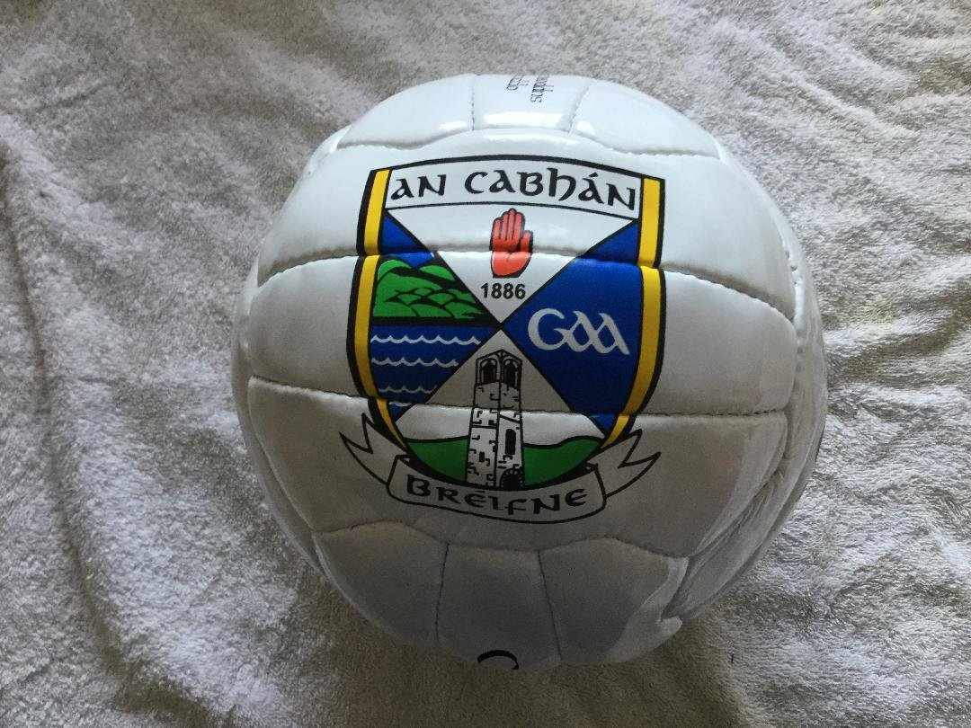 Official GAA Ireland County Cavan Size 5 Football Very Rare Limited Stock BOULDER FORMATS
