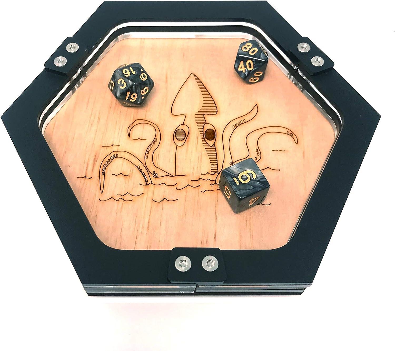 Kraken Mini Dice Tray ~ por C4Labs Jugadores de Mesa: Amazon.es: Juguetes y juegos