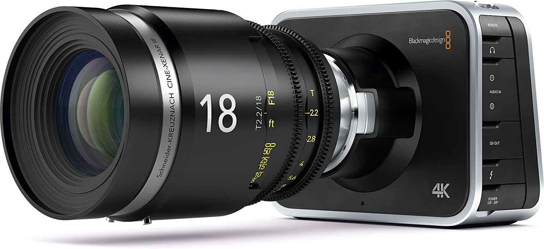 Amazon.com : Blackmagic Design Production Camera 4K with EF Mount ...