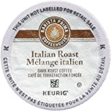 Barista Prima Coffeehouse Italian Roast Coffee K-Cup for Keurig Brewers, 24 Count (Pack of 2) - Packaging May Vary