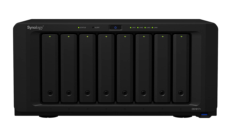 Synology Serie Plus DS1817+ NAS Escritorio Ethernet - Unidad Raid (2 GB y 8 GB, SSD, M.2, SATA, 2.5/3.5