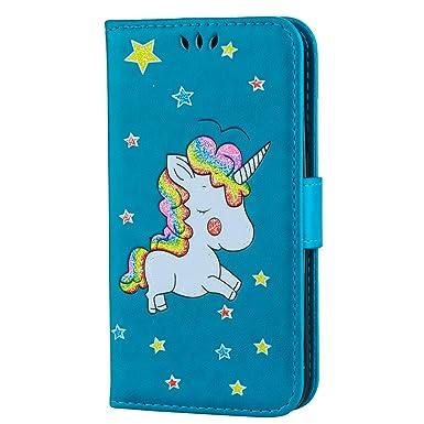 cover samsung s5 neo unicorno