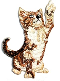 Original Vintage Meow Meow Meow Cat Iron On Transfer
