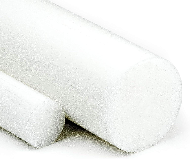 1000 mm POM Rundstab Rundmaterial Kunststoff ⌀ 10mm L= 500-2000mm natur//wei/ß