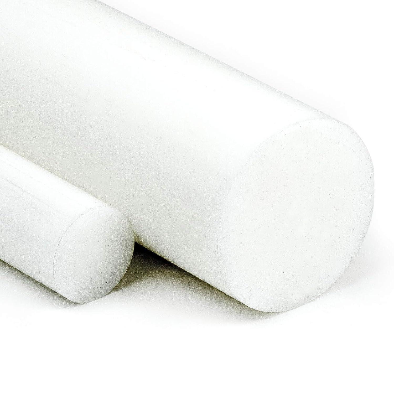 POM Rundstab natur /Ø 10mm L: 1000mm 100cm - Kunststoffstab auf Zuschnitt