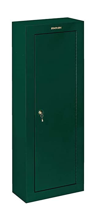 Stack-On GCG-908 Steel 8-Gun Security Cabinet, Green - Cabinet ...