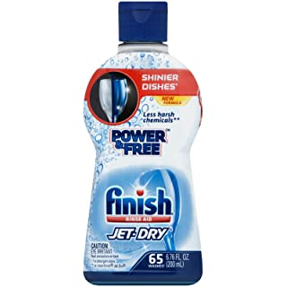Finish Jet Dry Rinse Aid - 6.76 oz - Power & Free