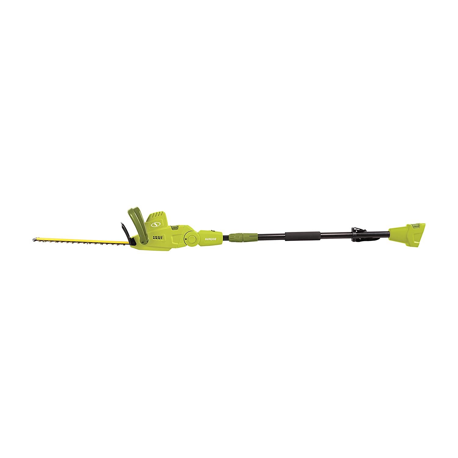 Sun Joe SJH904E Multi-Angle Telescoping Convertible Electric Pole Hedge Trimmer | 19-Inch 4.5 -Amp Snow Joe