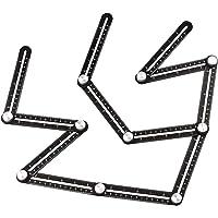 Baoblaze Multi Hoek Maatregel Liniaal Aluminiumlegering Sjabloon Gereedschap Meetinstrument voor Puncher Timmerwerk