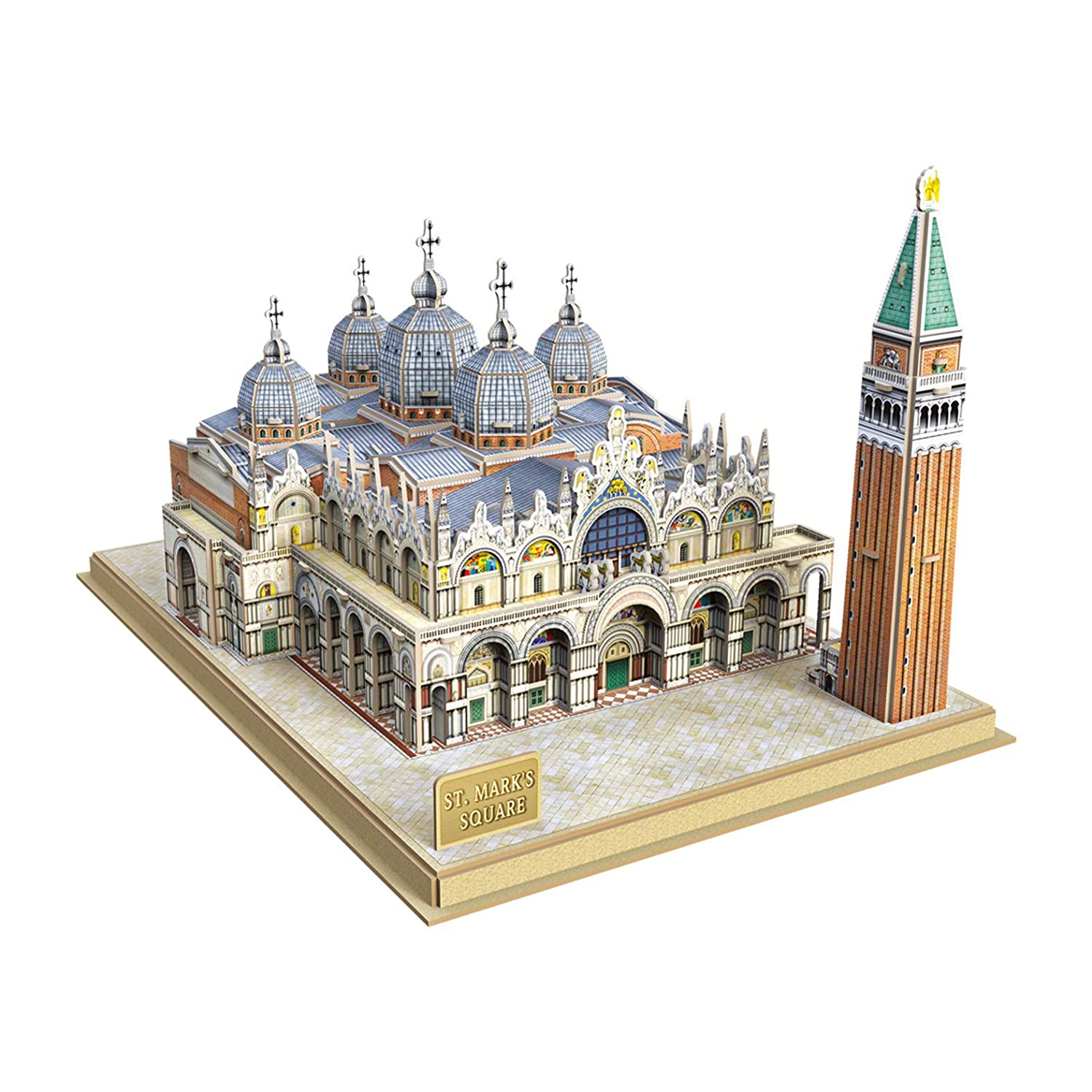 CubicFun-National Geographic Colosseum 3D Model Puzzle Kits Toy with Booklet, DS0976h