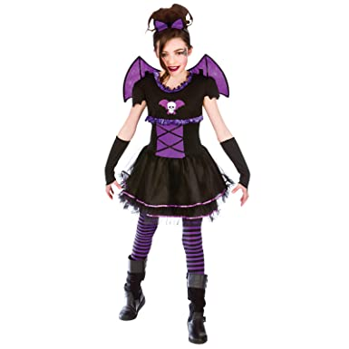 0d7cf1cf4 Girls Batty Ballerina Kids Costume for Halloween Fancy Dress 8-10 ...