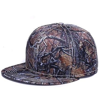 14d0d343 Amazon.com: HOMZE Full Printing Solid Baseball caps Hats Bone Fitted ...