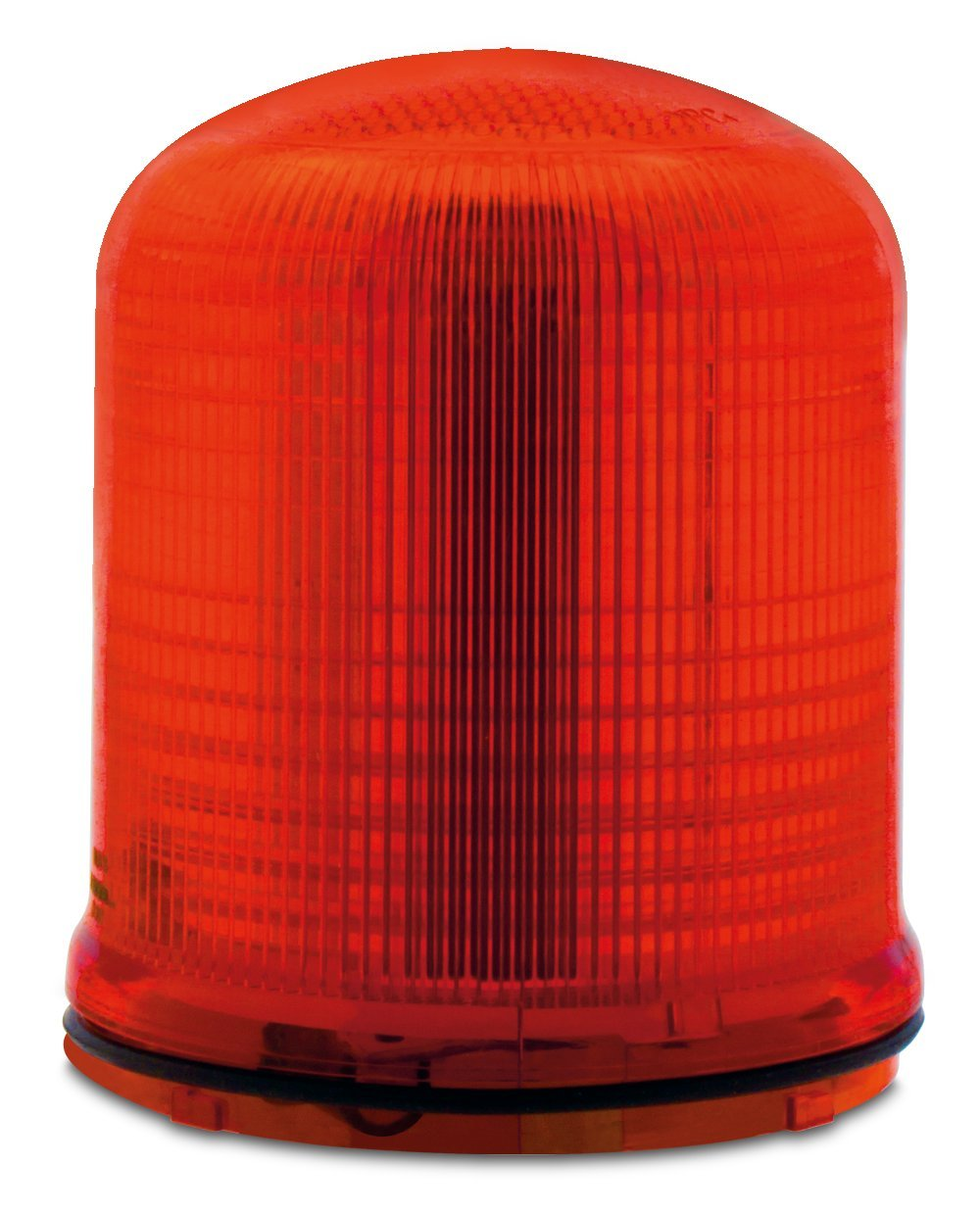 Federal Signal SLM200R Streamline Modular Multi-Pattern LED Beacon, Red, Required Base Sold Separately, Polycarbonate