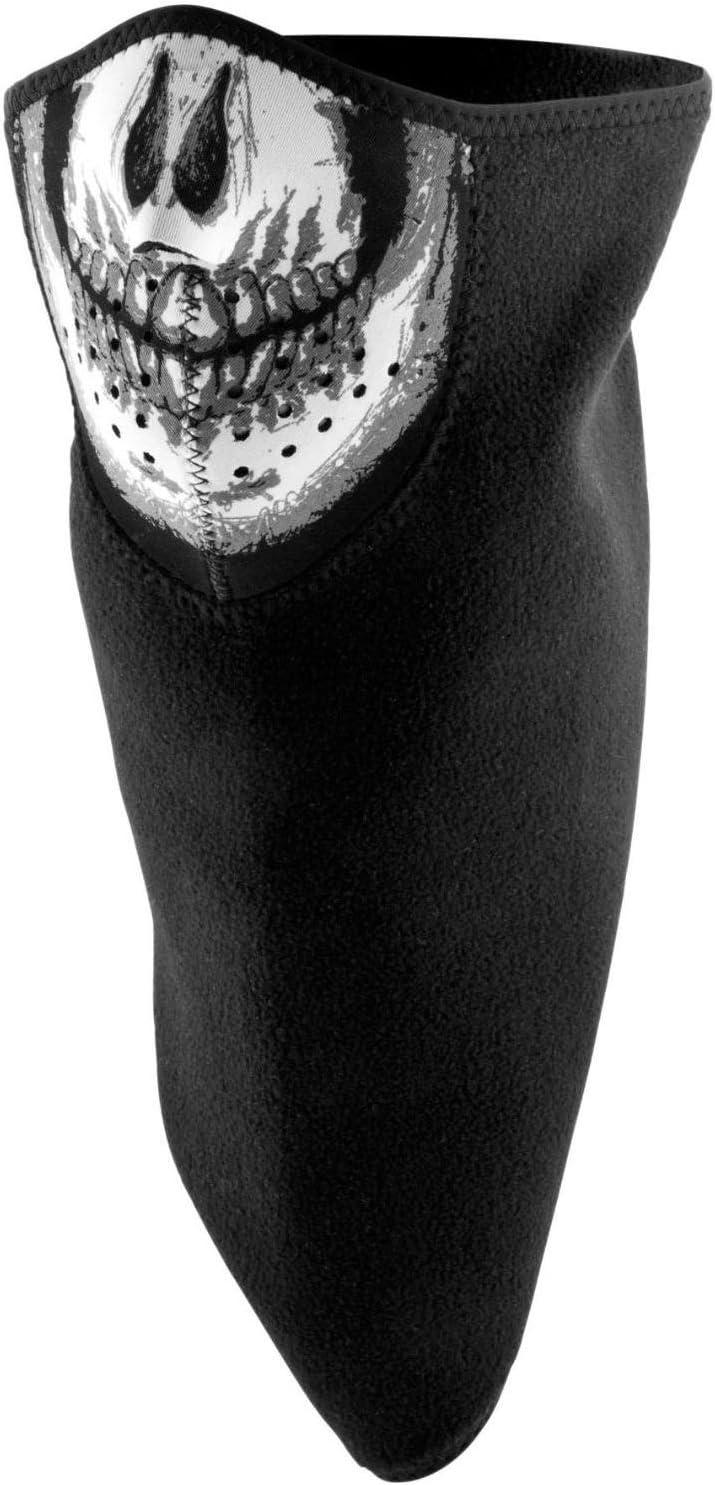 Skull ZANheadgear BVF002 Fleece Lined 3-IN-1 Bandanna