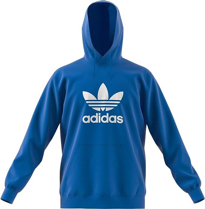 cappello ulteriore brocca  adidas Trefoil Hoody Felpa Sportiva con Cappuccio Uomo: Amazon.it:  Abbigliamento