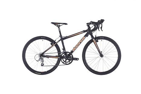Bicicleta de carretera Kona Jake 24 negro/naranja para niño 2014 ...