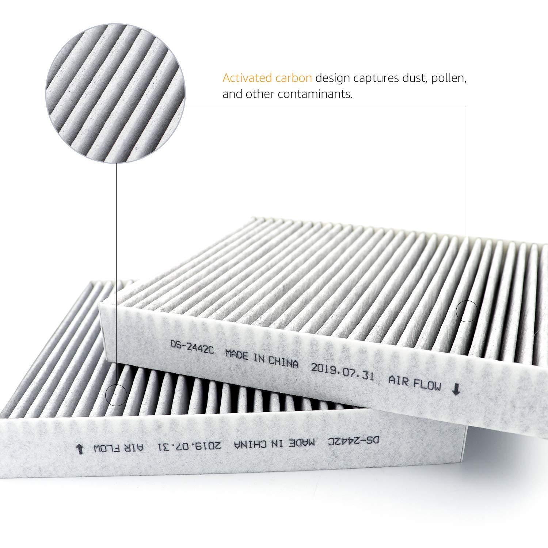 Basics 22,7 x 20 x 3 cm Filtro dell/'aria per abitacolo
