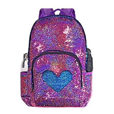 DIY Sequin Backpack Fashion Casual Daypack Glitter Sparkly Bag for Girls Teen Student School Bags Kids Bookbags | Kids' Backpacks