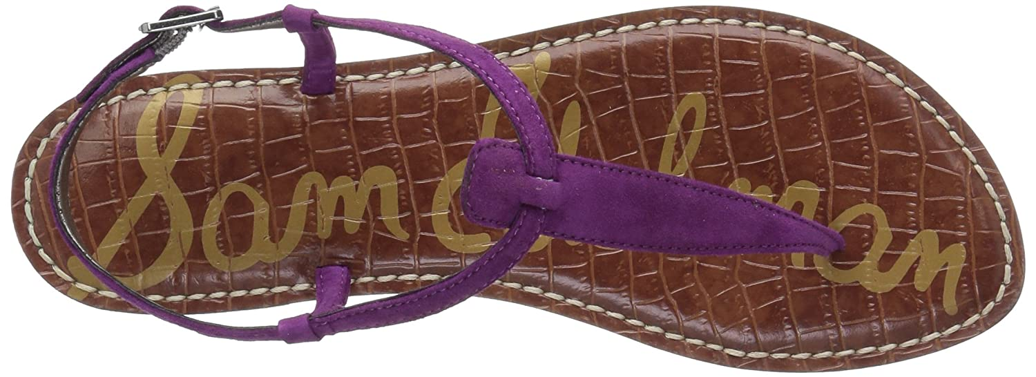 Sam Edelman Women's Gigi Leather Plum B07C9GVN8B 8.5 W US|Purple Plum Leather 05cdda
