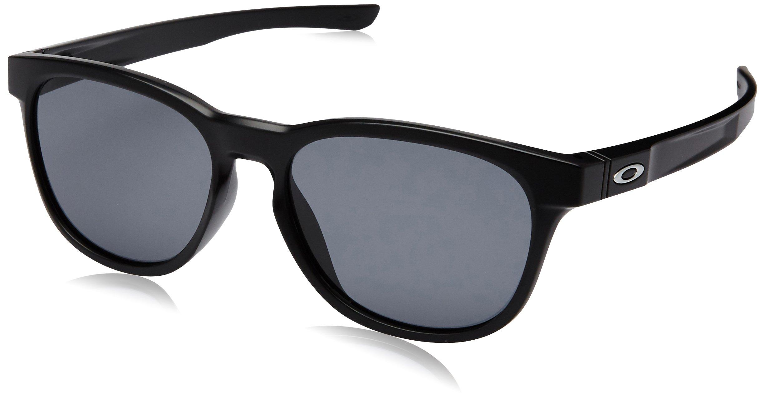 Oakley Stringer Sunglasses Matte Black/Grey